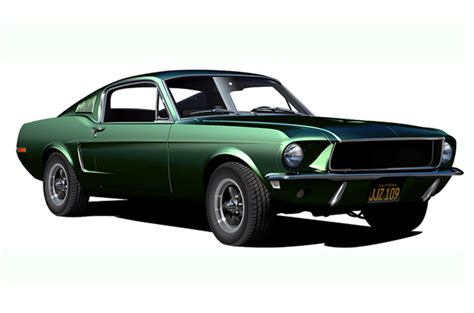 Bullitt Mustang, Brand New Muscle Car, Ford, Replica