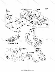 Kawasaki Atv 2008 Oem Parts Diagram For Chassis Electrical