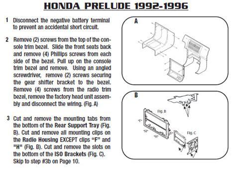 1993 honda preludeinstallation
