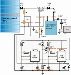 Wiring Diagram For Solar Battery Charger  U2013 Volovets Info