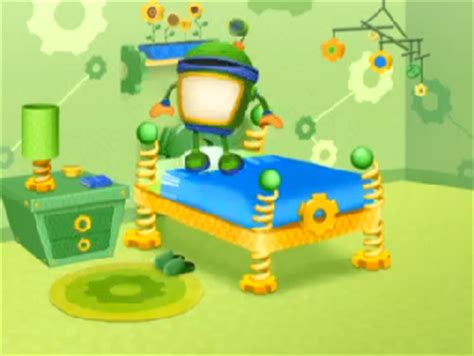 image bot jumping on his bed png team umizoomi wiki