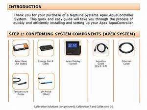 Get Started Guide  U2013 Apex Classic  U2013 Neptune Systems