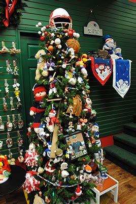 football ornaments santa claus christmas store blog