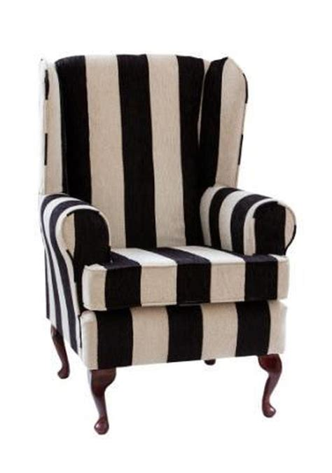 luxury orthopaedic high seat chair in harrison stripe