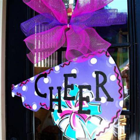 cheer decorations cheer c door decoration tips lovetoknow