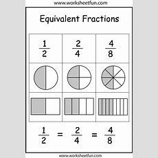 Fractions, Fractions Worksheets And Worksheets On Pinterest