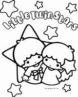 Coloring Twin Stars Kitty Hello Sanrio Colouring Fanpop Characters Sheets Twins Printable Printables Melody Adult Getdrawings Kiki Lala Drawing Super sketch template