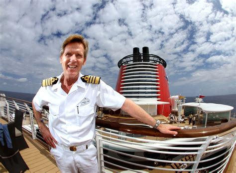 Disney Fantasy Captain Tom Forberg On Disney Fantasy ...