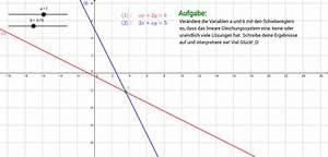 Schnittpunkte Von Funktionen Berechnen : lineare gleichungssysteme geogebra ~ Themetempest.com Abrechnung