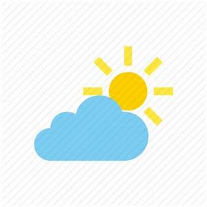 Cloudy, partly, weather icon | Icon search engine