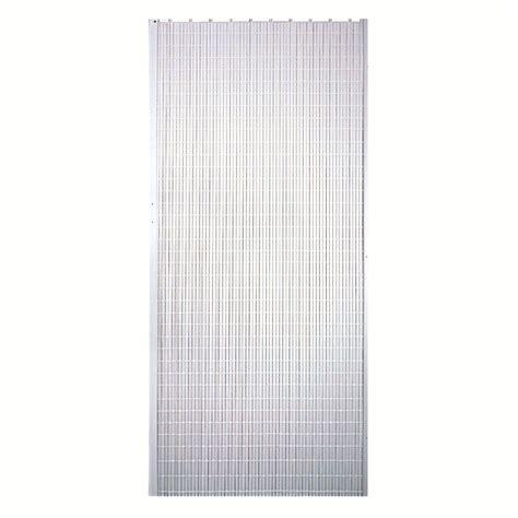 Plastic Closet Doors by 32 X 80 In White Accordion Door Vinyl Plastic Slats