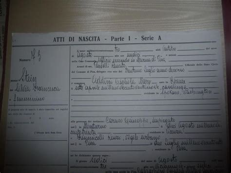 Diary Of Silviamatrilineally Addini Based On Birth In Pisa, Italy Jus