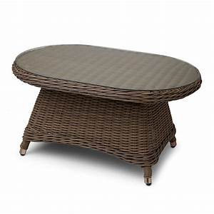 signature hardware alcee resin wicker outdoor sofa and With outdoor resin wicker coffee table