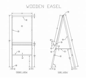 Easel Woodworking Plans : Storage Shed Plans-diy