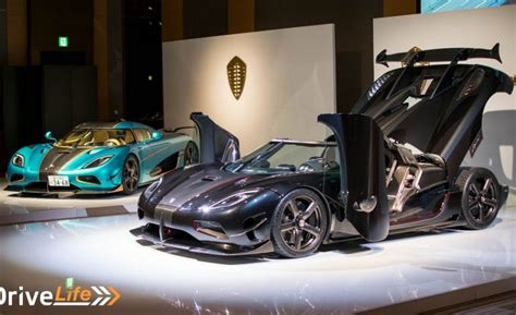 koenigsegg japan world premiere of the japan exclusive koenigsegg agera rsr