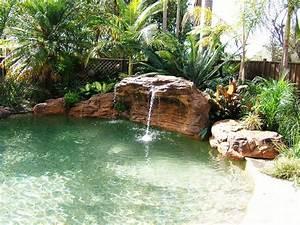 Piscine Avec Cascade : cascade piscine polyn sien 170 x 110 x 81 2 cm l x p ~ Premium-room.com Idées de Décoration