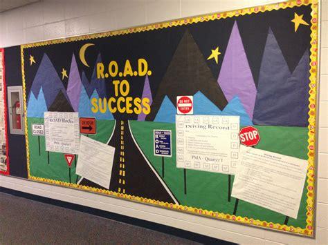 bulletin board road  success    acronym