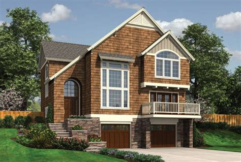 Plan 2163 The Newell Craftsman style house plans