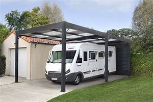 Carport Camping Car : carport abris camping cars toit plat ~ Melissatoandfro.com Idées de Décoration