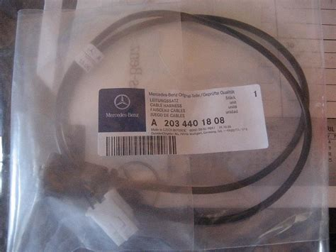 find aux input harness plug mbworldorg forums