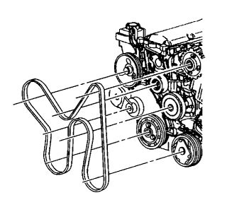 4 8 Chevy Engine Belt Diagram by I Need A Diagram For Installing A Serpentine Belt On A