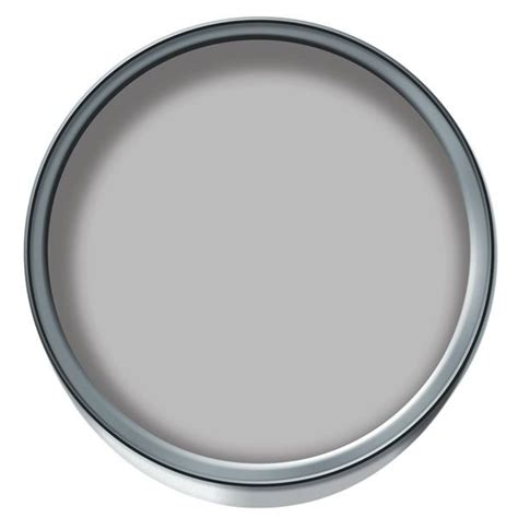 wilko colour matt emulsion paint pearl grey 2 5ltr paint