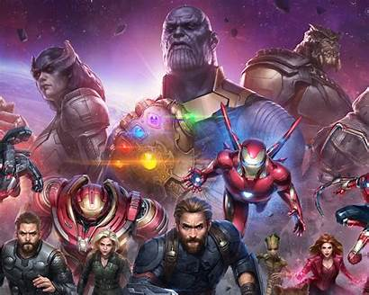 Avengers Marvel War Infinity Fight Future Wallpapers