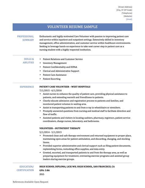 how to write volunteer work on resume 28 images how to make a volunteer resume resume ideas