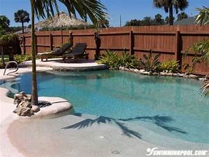 25 best ideas about backyard pools on pinterest With beach entry swimming pool designs