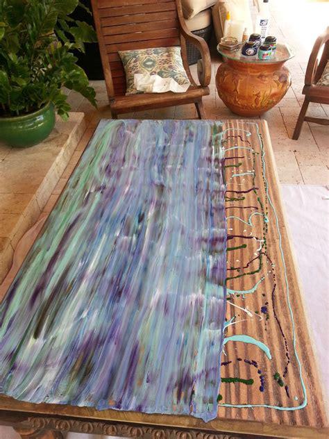 hometalk  weathered  coastal patio table