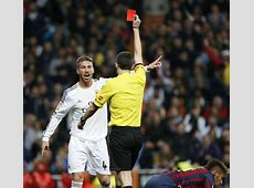 Madrid will appeal Ramos red card We Love Barça