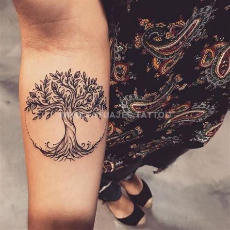 ideas de tatuajes de arbol de la vida foto