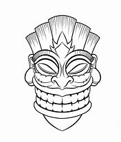 high quality images for tiki mask template