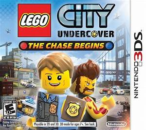 New Lego City Undercover The Chase Begins Nintendo 3ds