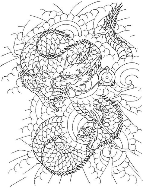 Horicho | Adult coloring pages, Coloring pages, Oriental
