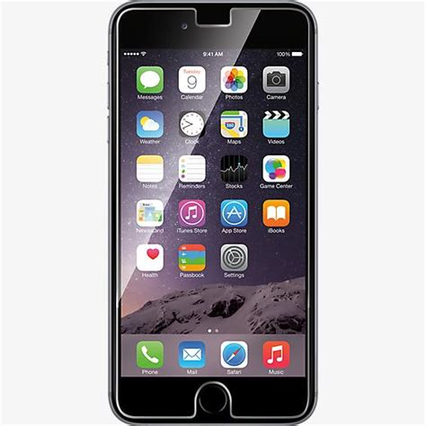 iphone 6 verizon wireless verizon tempered glass screen protector for iphone 6 plus