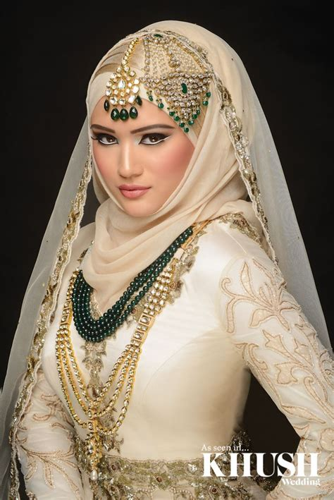latest bridal hijab dresses designs styles