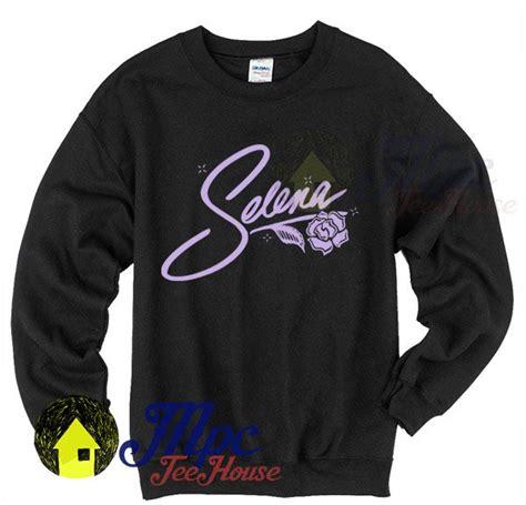 selena quintanilla signature crewneck sweatshirt mpcteehouse