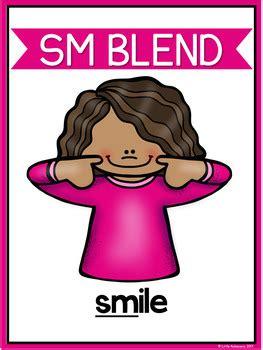 blends worksheets sm blend words   achievers tpt