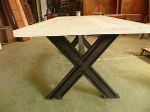 Pied De Table Industriel : les tables industrielles ~ Dailycaller-alerts.com Idées de Décoration