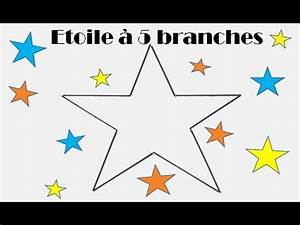 Comment Faire Une Etoile : comment dessiner facilement une toile 5 branches ~ Nature-et-papiers.com Idées de Décoration