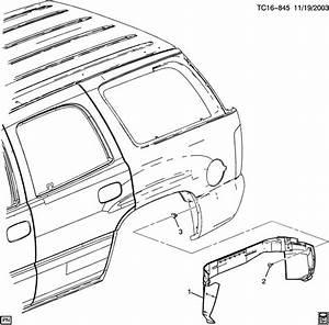Chevrolet Tahoe Extension  Fuel Door  U0026 Body Side  Axlefor