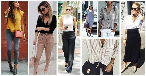 Spring Office Outfits. Business Attire For Women Who Run