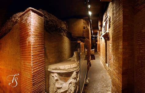 The exclusive tour of Necropolis below St. Peter's