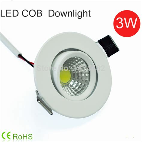 Led Mini Downlight 3w Cob Luminaria Led Ceiling Spot