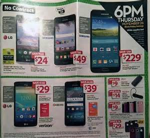 walmart 39 s black friday flyer leaks check out the deals on phones tablets and accessories