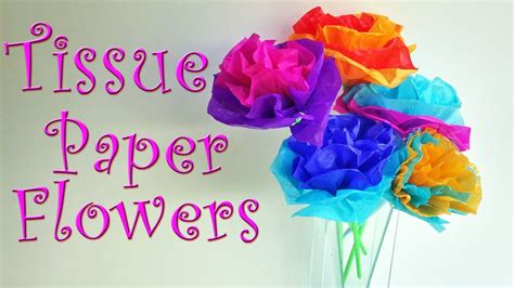 diy crafts    tissue paper flowers easy ana