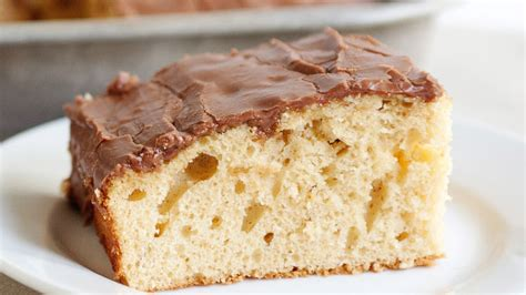 yellow butter cake peanut butter sheet cake with chocolate frosting recipe 1508
