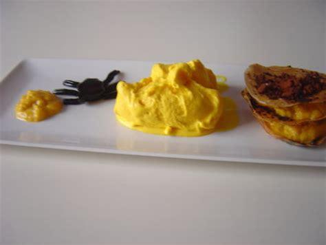 feuille de cuisine mille feuille de potimarron aux amandes et crème glacée au