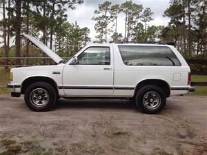 Chevrolet Blazer Suv 1987 White For Sale